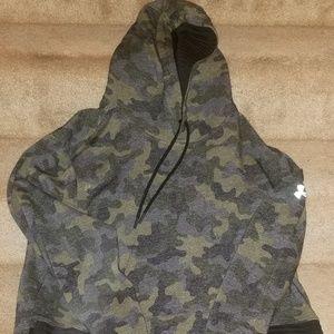 Under armour camo hoodie